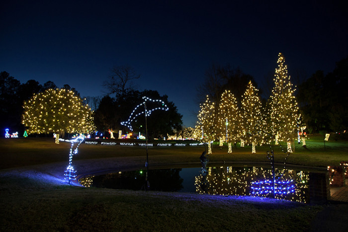 7. Moncks Corner - Celebrate the Season Holiday Driving Tour - Santee Cooper's headquarters and Old Santee Canal Park