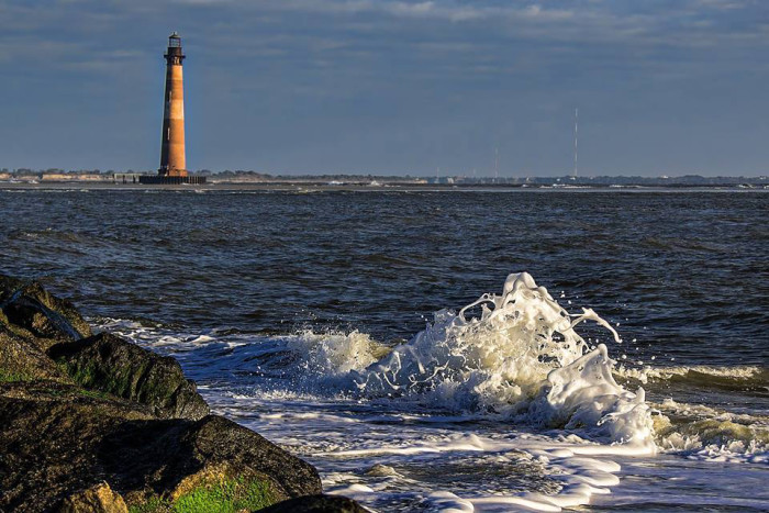 23. Morris Island Light. Photo by The Camera Queen.