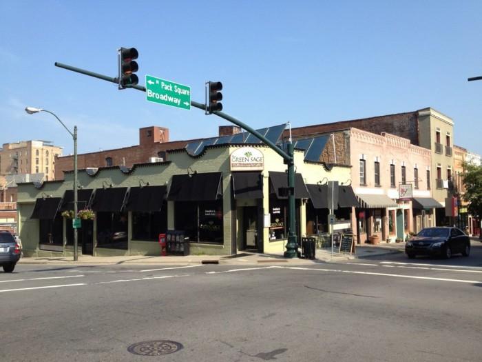 4. Green Sage Cafe, Asheville