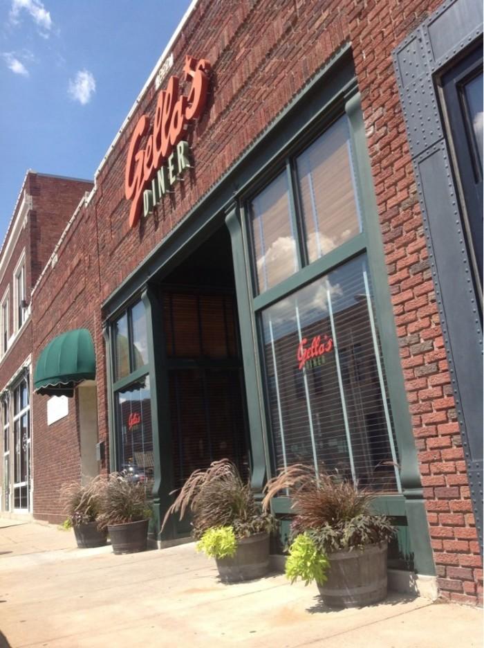 8. Gella's Diner & Lb. Brewing Co. (Hays)