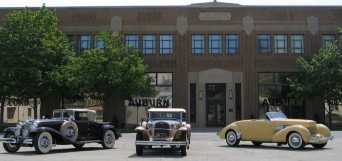 10. Be amazed by the Auburn Cord Duesenberg Automobile Museum