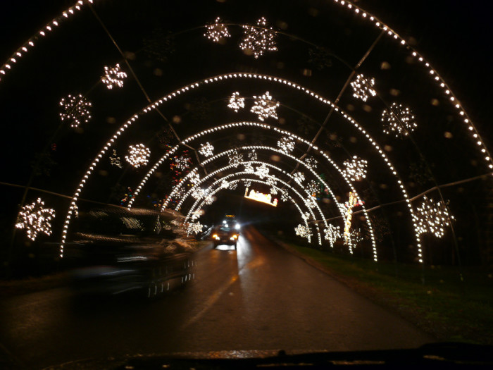 Wheeling Christmas Lights