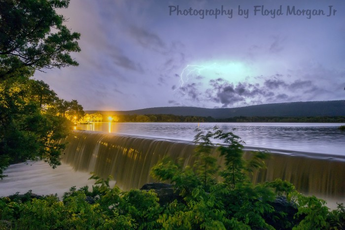 11. Hartshorne Lake Dam