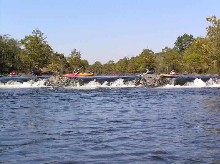 8. Presbyterian Falls at Lower Mountain Fork River