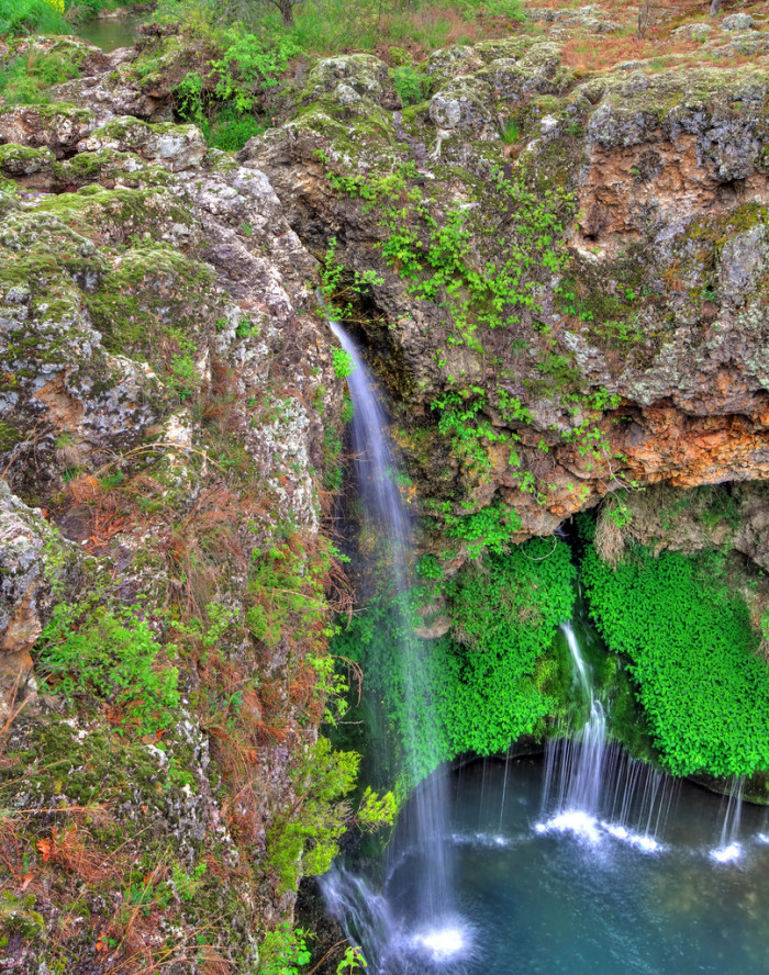 7. Natural Falls (from above)