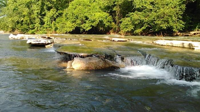 13. Saline Creek in Mayes County