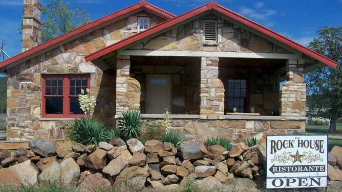 4. The Rock House Ristorante: Talihina