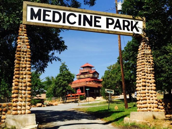 1. Medicine Park (415 pop.)