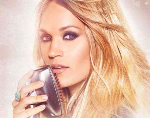 8. And what town did Carrie Underwood grow up in?