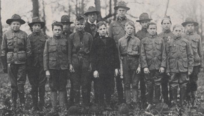 7. The first Boy Scout Troop in the U.S. started in Oklahoma in 1909.