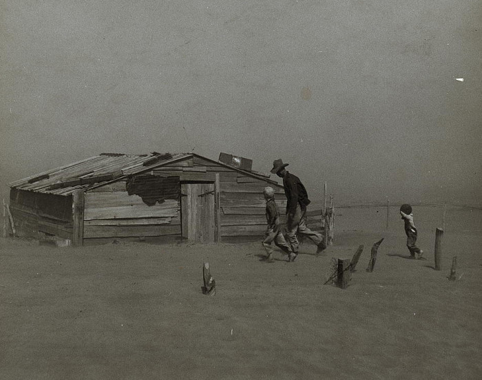 1. The ecosystem during the Dust Bowl was disrupted so badly that it unleashed plagues of jackrabbits and grasshoppers.