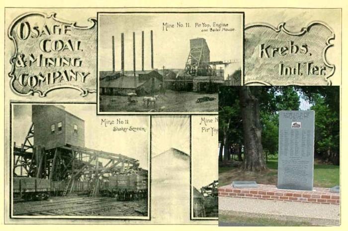 3. The worst mining catastrophe in Oklahoma Territory history happened in Krebs, OK on January 7, 1892.