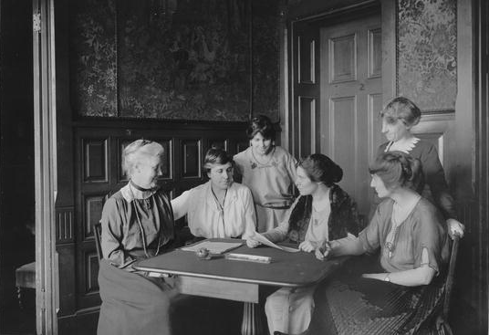 10. Women in Oklahoma voted  for 1 year prior to the 19th amendment which gave women voters across the country the right to vote.