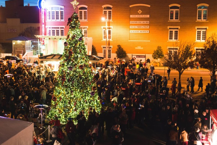 14. Downtown in December, Oklahoma City