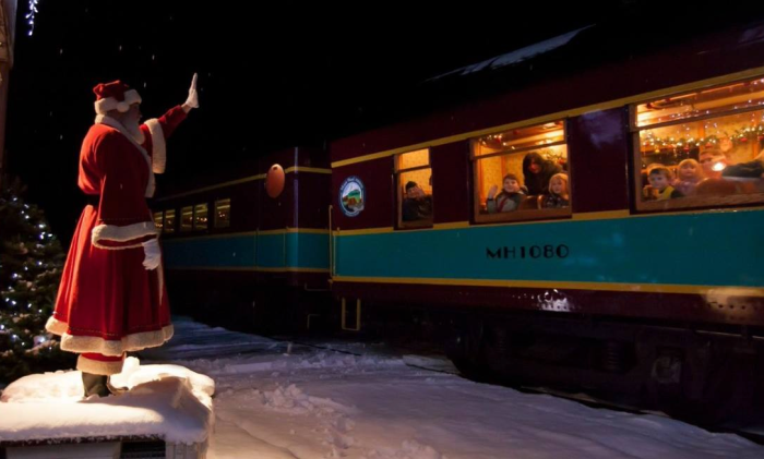 11. We even have our very own Polar Express.