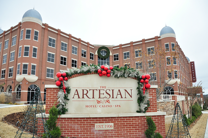 2. The Artesian Hotel, Casino & Spa: Sulphur