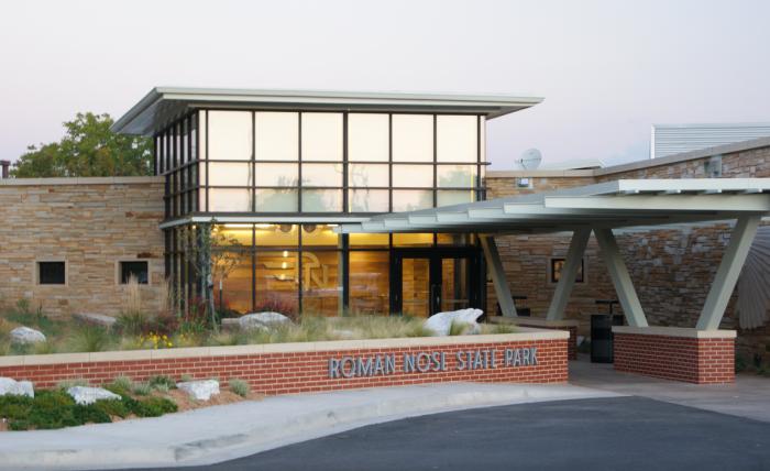 4. Roman Nose State Park Lodge