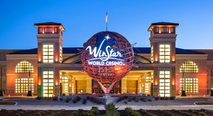 8. WinStar World Casino, Thackerville