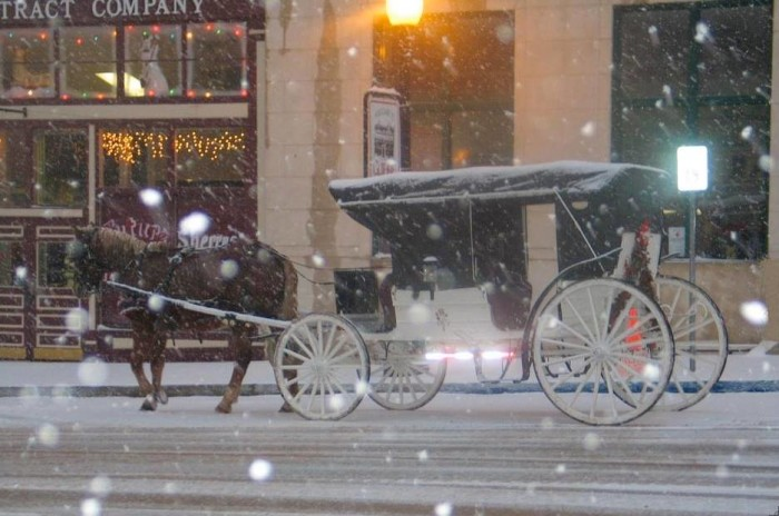 7. You can catch a romantic ride on one of these guys in many cities across the state.
