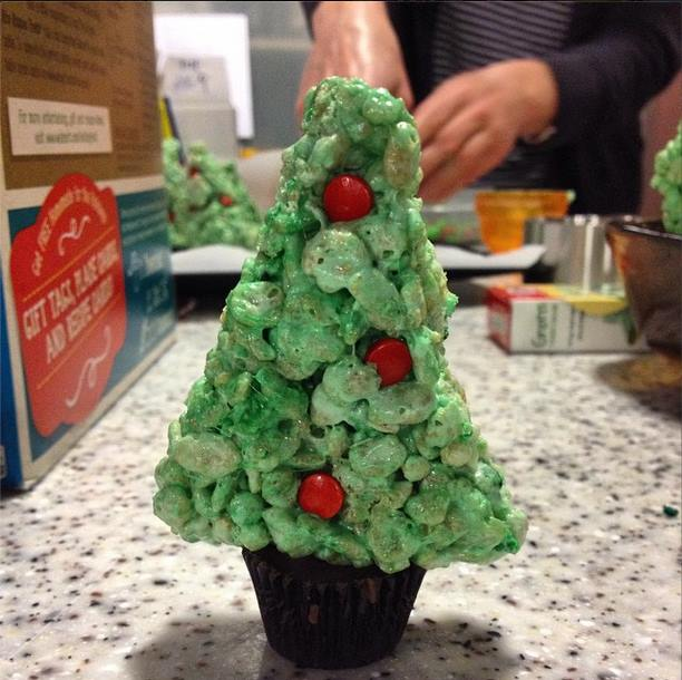 9. We get to make and eat delicious holiday treats.