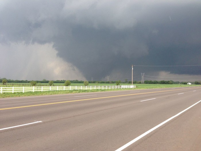 1. The nation watched as the largest tornado ever recorded hit El Reno, Oklahoma on May 31, 2013.
