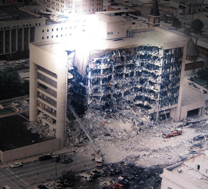 3. The world watched in horror on April 19, 1995, as the Alfred P. Murrah building in OKC was bombed by domestic terrorists, killing 168 people and injuring more than 680 others.