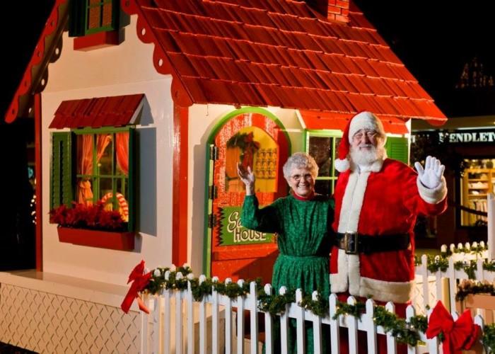 11. Go visit Santa and Mrs. Claus in Utica Square in Tulsa.