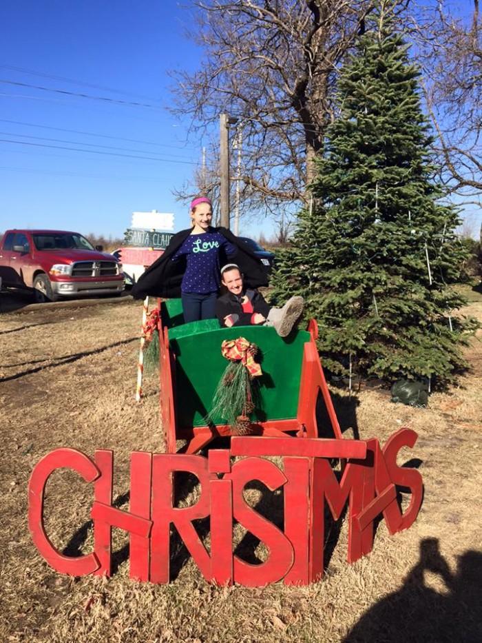 5. Visit Owasso's Christmas Tree Farm & Berry Farm.