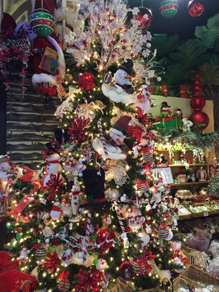 9. Visit North Pole City in OKC for splendid holiday decorations.