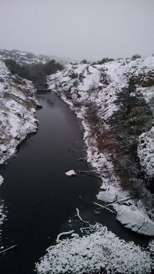 6. Go see the Wichita Mountains Wildlife Refuge after a snowfall.