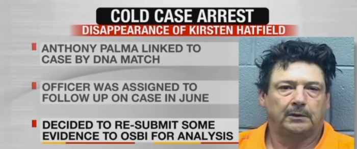 9. The 1997 cold case murder of Kirsten Hatfield was solved after 18 years.