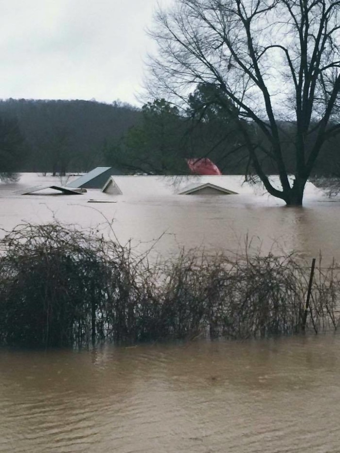8. Insane flooding happened across the state.