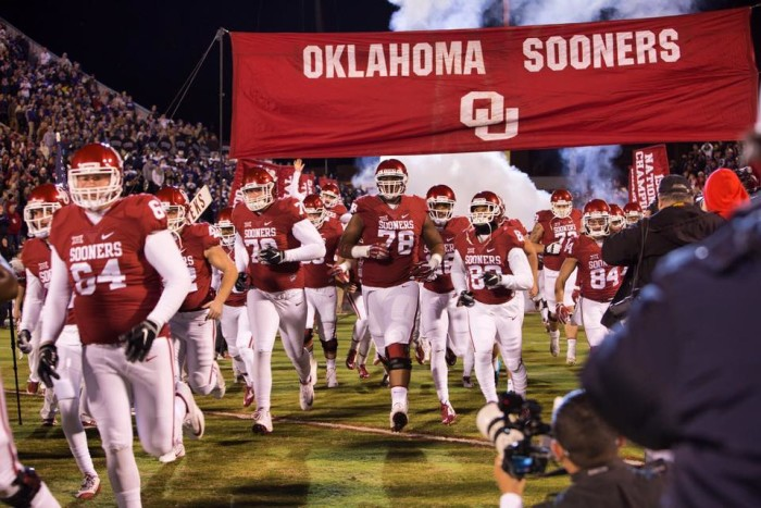 9. A spot in the college football playoffs for the Oklahoma Sooners (again).