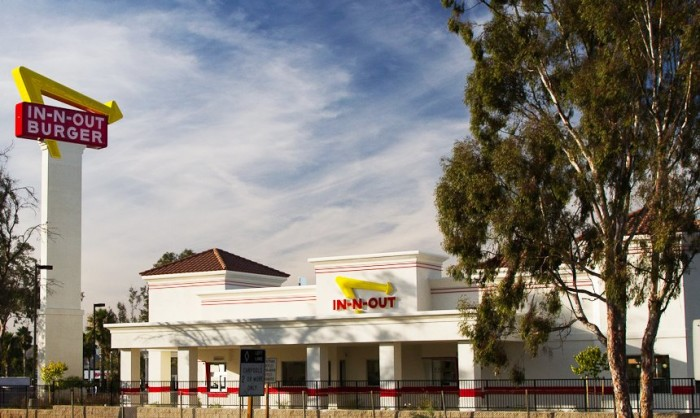 9. An In-N-Out Burger because it's just not fair.