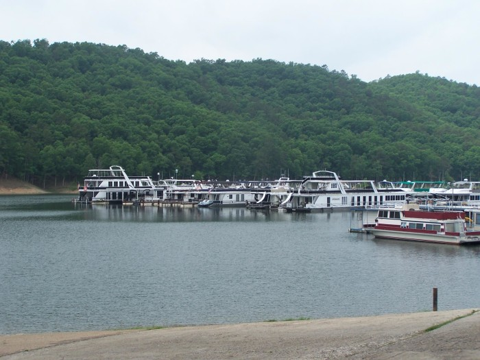 8. Rent a houseboat and spend the weekend (or week) on Broken Bow Lake.