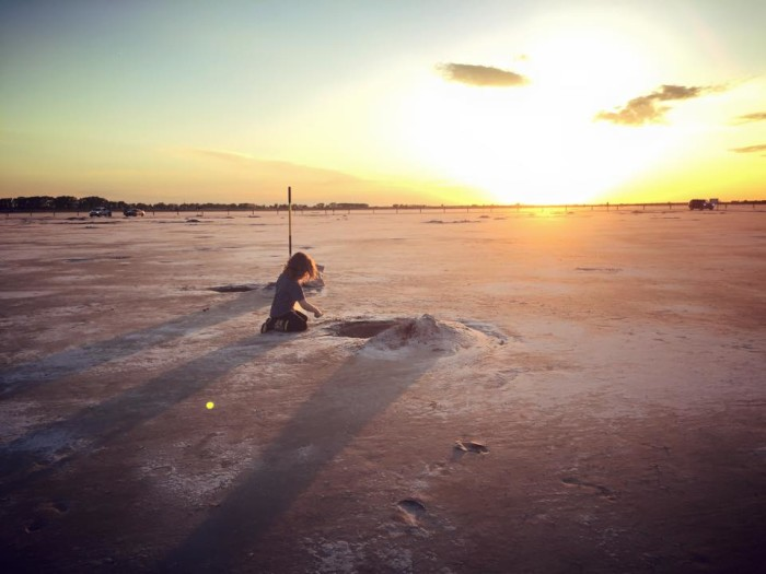 19. Go crystal digging in the Great Salt Plains.