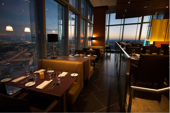 17. Dine on the 49th floor of the tallest building in Oklahoma (Devon Tower).