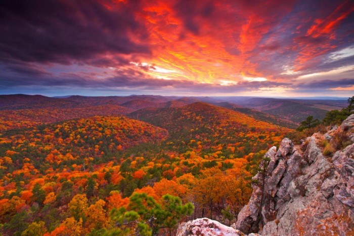 6. The most breathtaking scenery all around our state.
