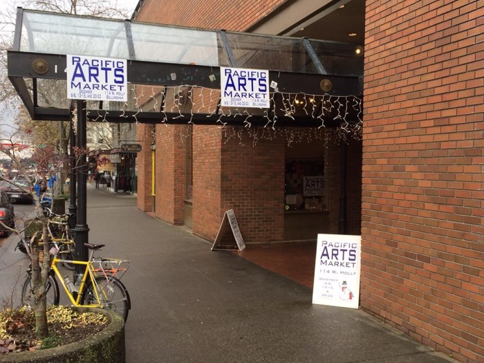 3. Score some amazing gifts at the Pacific Arts Holiday Market in Bellingham.