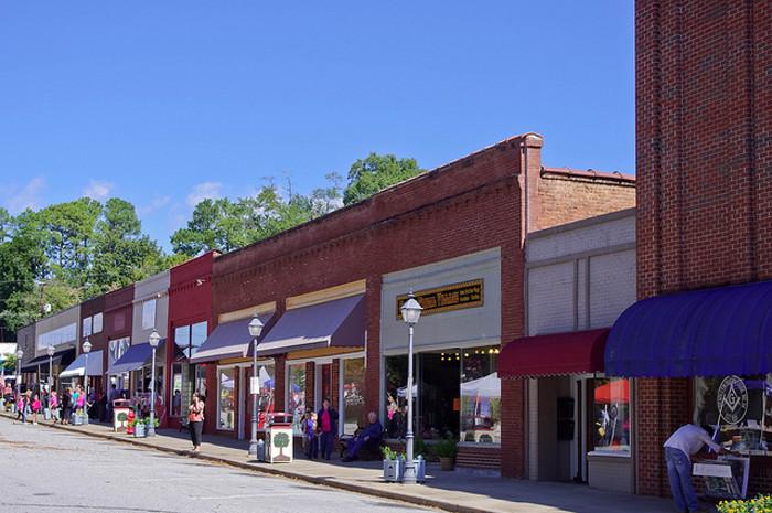 9. Pendleton, SC