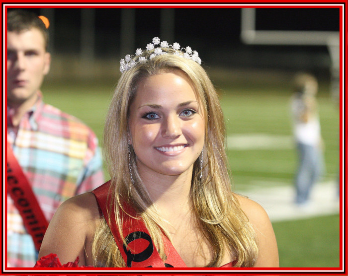 3. The prom queen was also the homecoming queen.