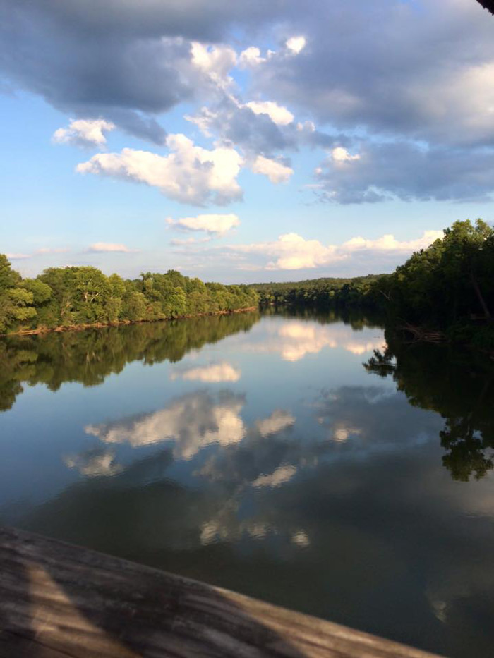 Any visit to Peak should include a crossing of the old railroad trestle, an 1,100 foot trek over the Broad River with spectacular views.