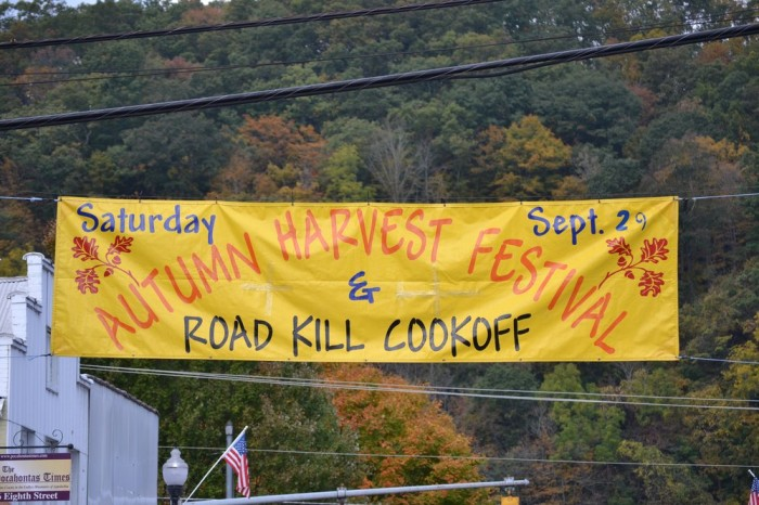 10. We have a cookoff dedicated to roadkill.