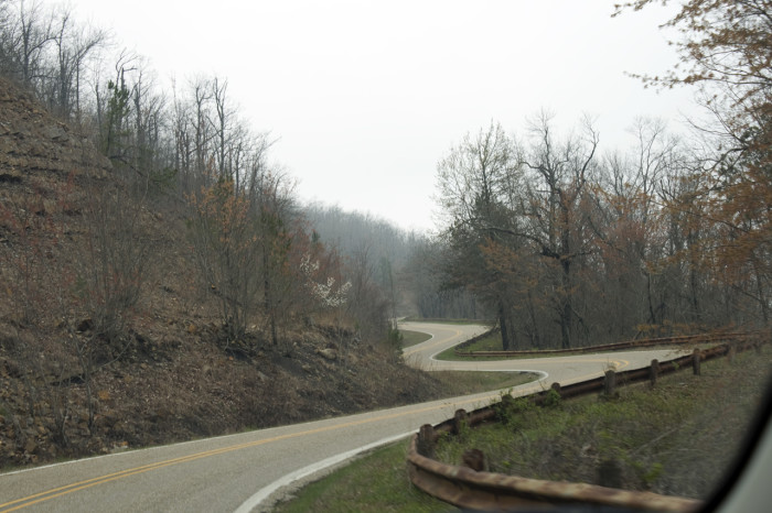 3. We're a perfect state for road trips, and not everyone has discovered the greatness of Arkansas roads.