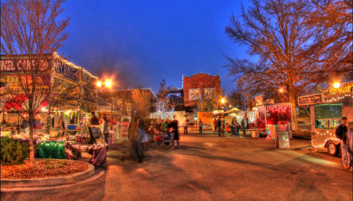 rock hill sc old town - Christmas Town North Carolina