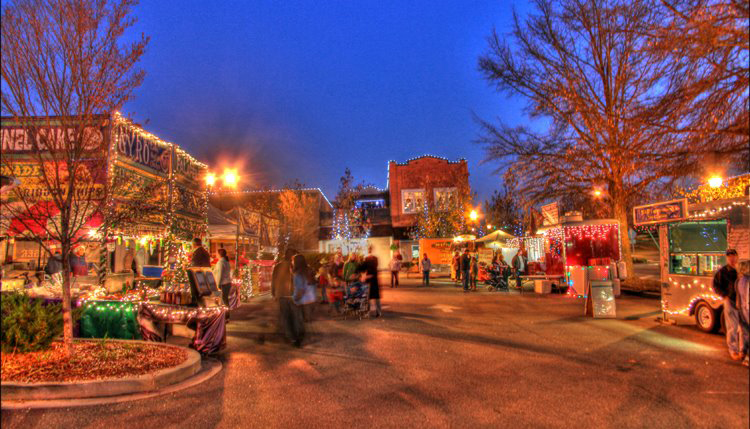 Top 15 South Carolina Christmas Towns