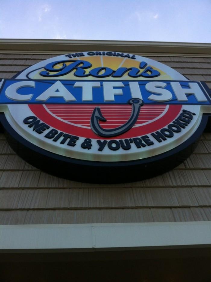 21. Ron's Catfish Buffet