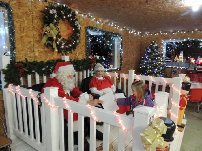 10. Santa lives everywhere in Nebraska!