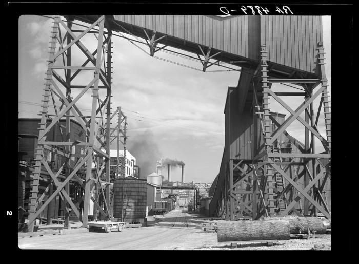 4. This was one of the largest sawmills in the world! Taken in Longview around July 1936.
