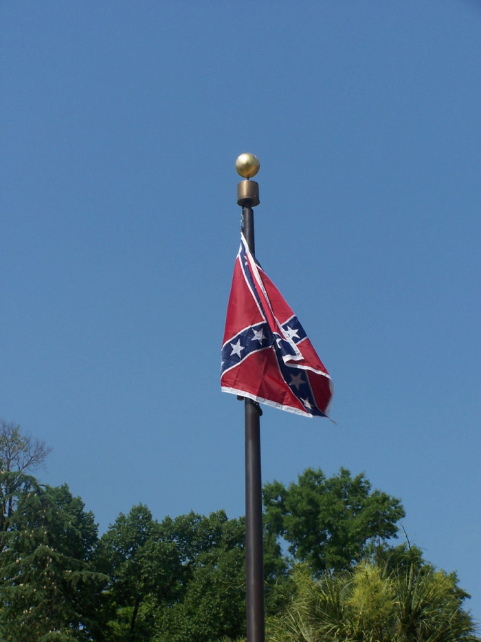1. A woman climbed the flag pole on the State House grounds and removed the Confederate Flag - AND THEN prominent film maker Michael Moore offered to pay her legal fees.
